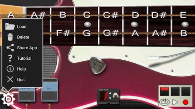 Power guitar HD 🎸 chords, guitar solos, palm mute screenshot 4