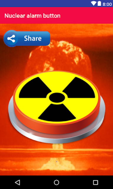 Nuclear Alarm Button screenshot 1