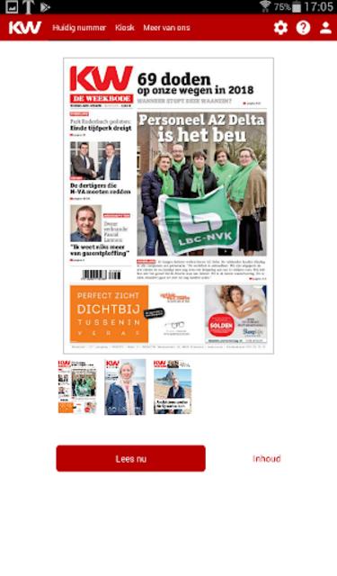 Krant van West-Vlaanderen screenshot 16