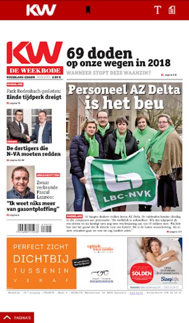 Krant van West-Vlaanderen screenshot 20