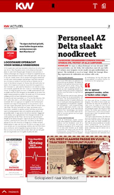 Krant van West-Vlaanderen screenshot 21