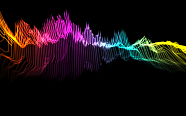 Music Visualizer screenshot 1