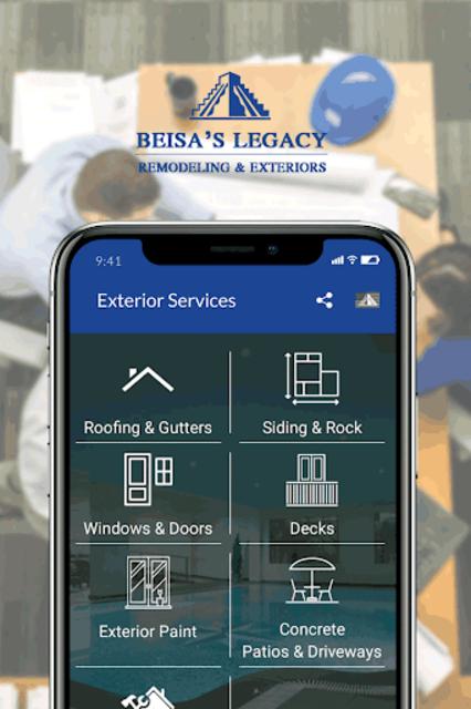 Siding, Roof, Decks & Home renovation Calculator. screenshot 3