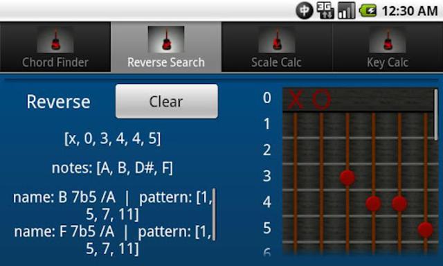 chords+ music tools screenshot 4