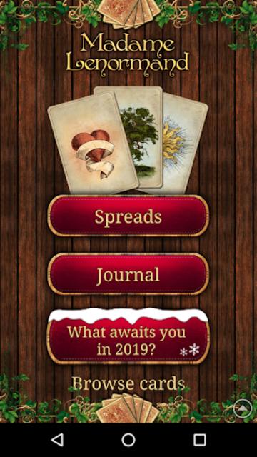 Tarot Madame Lenormand screenshot 9