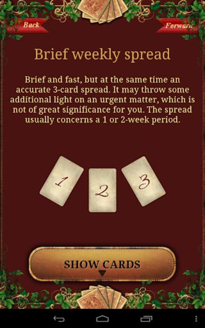 Tarot Madame Lenormand screenshot 11