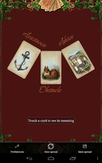 Tarot Madame Lenormand screenshot 16