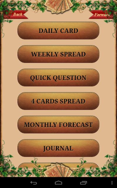 Tarot Madame Lenormand screenshot 17