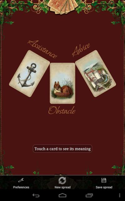 Tarot Madame Lenormand screenshot 23