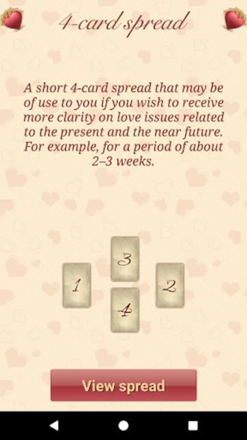 Lenormand Love Tarot screenshot 3