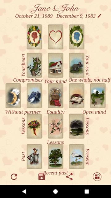 Lenormand Love Tarot screenshot 7