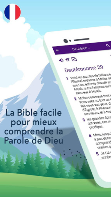 Bible en français courant screenshot 28