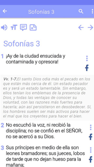 Biblia de estudio screenshot 8