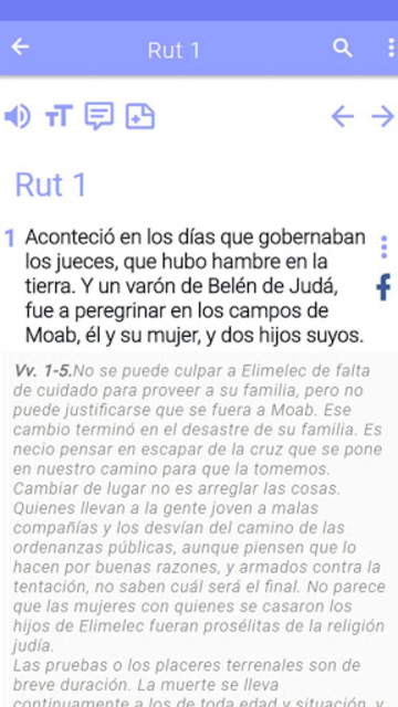 Biblia de estudio screenshot 30