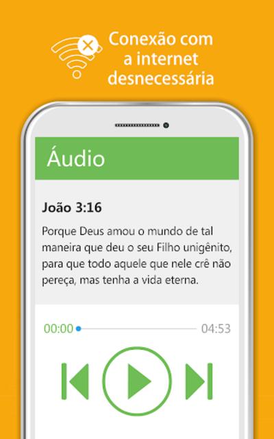 Bíblia Sagrada JFA - Áudio Bíblia, Grátis, Offline screenshot 9