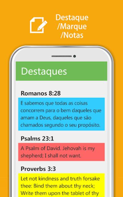 Bíblia Sagrada JFA - Áudio Bíblia, Grátis, Offline screenshot 10