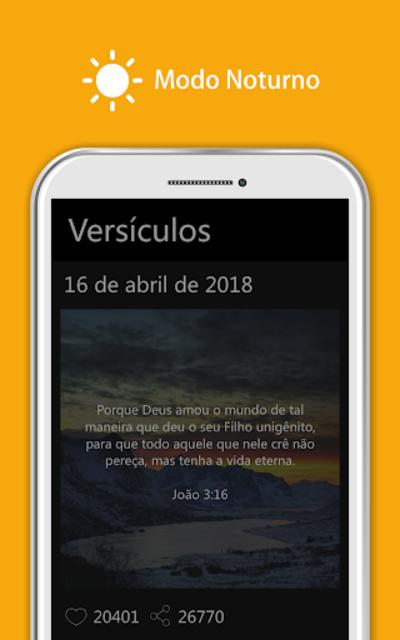 Bíblia Sagrada JFA - Áudio Bíblia, Grátis, Offline screenshot 13