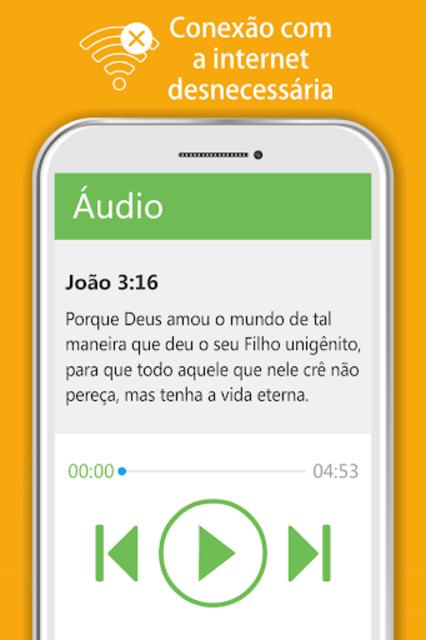 Bíblia Sagrada JFA - Áudio Bíblia, Grátis, Offline screenshot 17