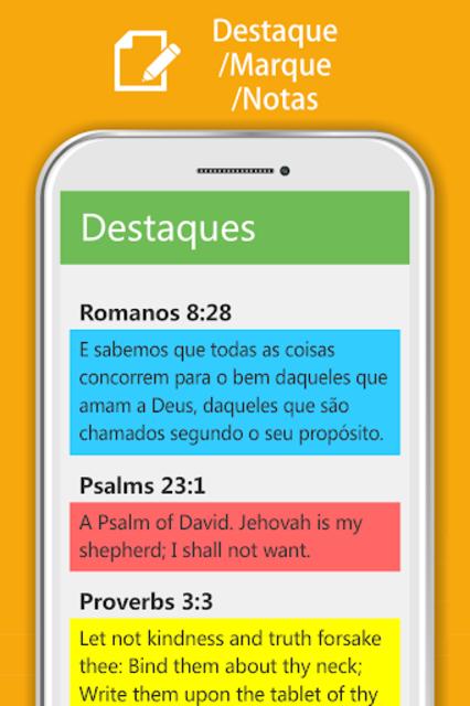 Bíblia Sagrada JFA - Áudio Bíblia, Grátis, Offline screenshot 18