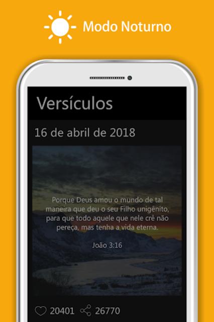 Bíblia Sagrada JFA - Áudio Bíblia, Grátis, Offline screenshot 21