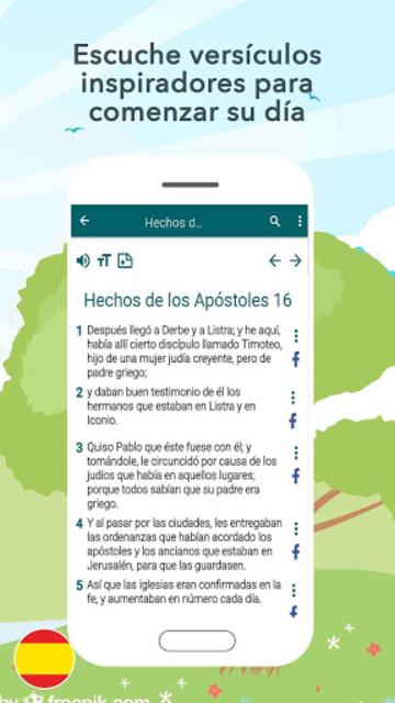 Biblia Santa Valera screenshot 7
