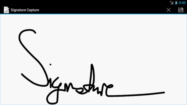 Signature Capture screenshot 2