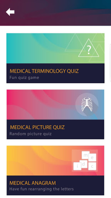 Medical Terminology Quiz Game: Trivia App screenshot 2