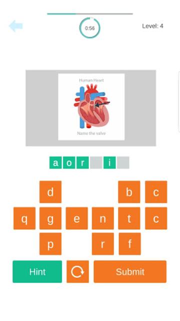 Medical Terminology Quiz Game: Trivia App screenshot 3