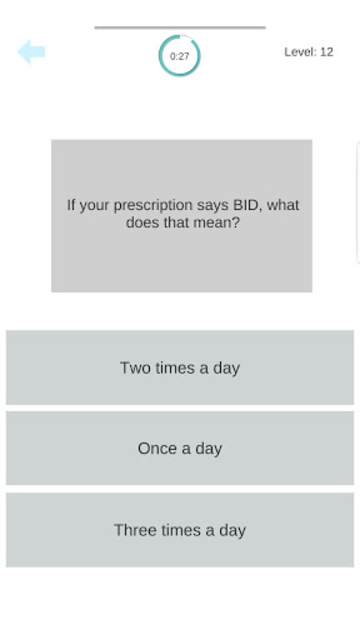 Medical Terminology Quiz Game: Trivia App screenshot 12