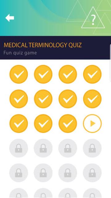 Medical Terminology Quiz Game: Trivia App screenshot 18