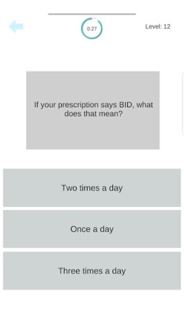 Medical Terminology Quiz Game: Trivia App screenshot 19