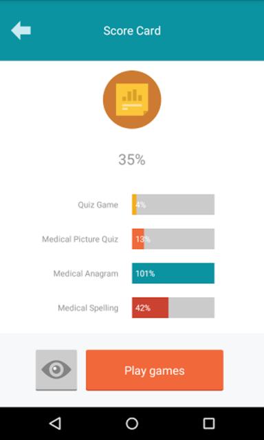 Medical Terminology Quiz Game: Trivia App screenshot 24