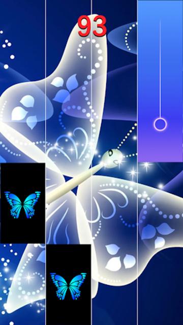 Blue Butterfly Piano Tiles  - Magic Tiles 2020 screenshot 2