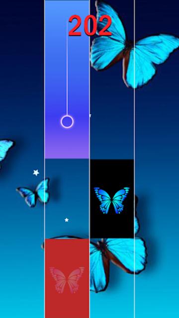 Blue Butterfly Piano Tiles  - Magic Tiles 2020 screenshot 5