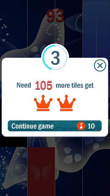 Blue Butterfly Piano Tiles  - Magic Tiles 2020 screenshot 6