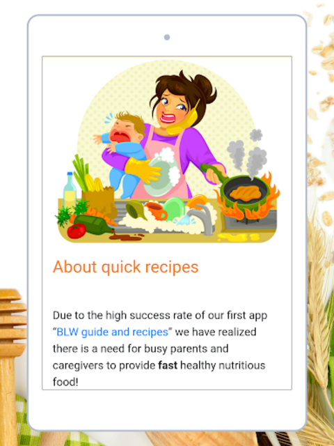 Baby Led Weaning - Quick Recipes screenshot 15