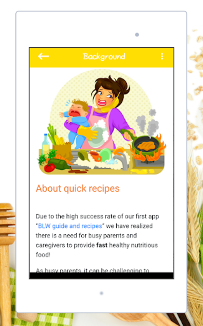Baby Led Weaning - Quick Recipes screenshot 23