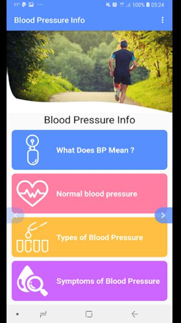 Blood Pressure - BP INFO screenshot 3