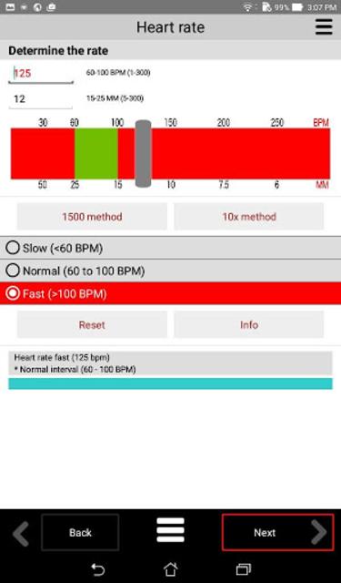 ECG CALC Lite screenshot 8