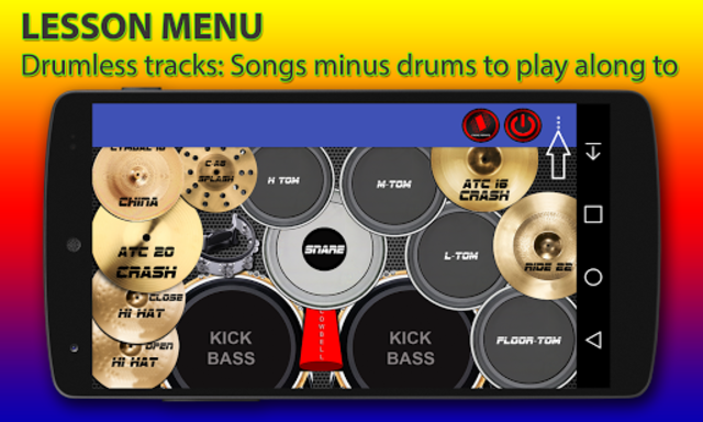 Drum kit screenshot 1