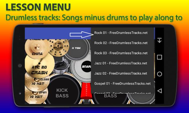 Drum kit screenshot 2