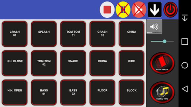 Drum kit screenshot 4