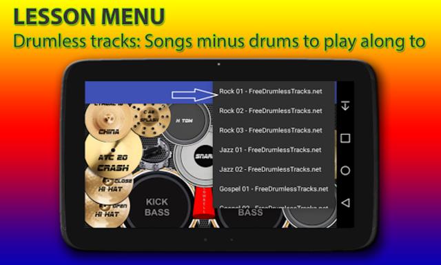 Drum kit screenshot 6