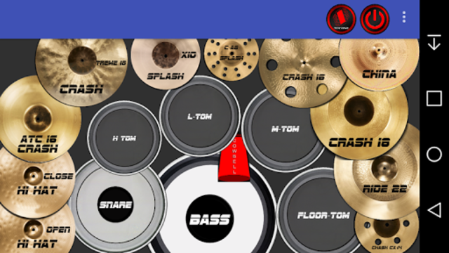 Rock Drum Kit screenshot 1