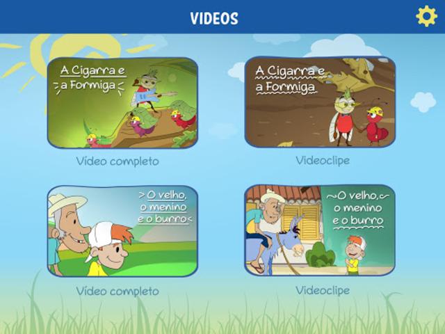 Contos em Cantos - O APP Mágico de histórias screenshot 2