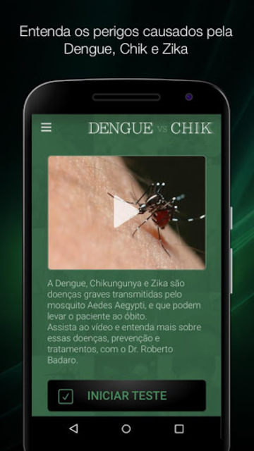 Dengue x Chik x Zika Completo screenshot 2