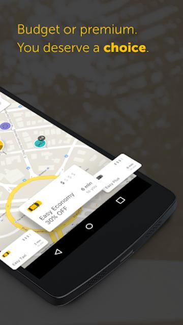 Easy - taxi, car, ridesharing screenshot 2