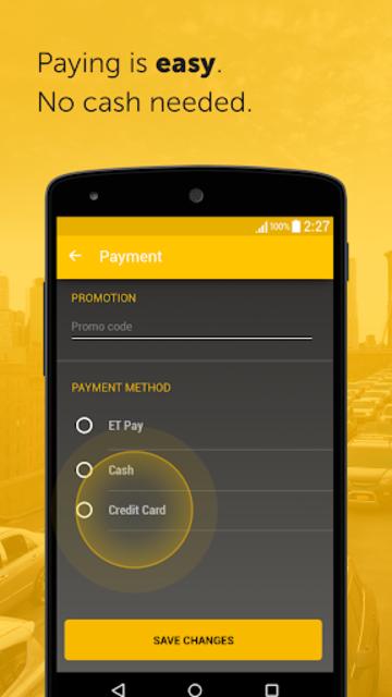 Easy - taxi, car, ridesharing screenshot 3