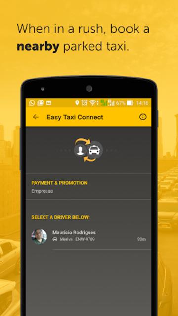 Easy - taxi, car, ridesharing screenshot 5