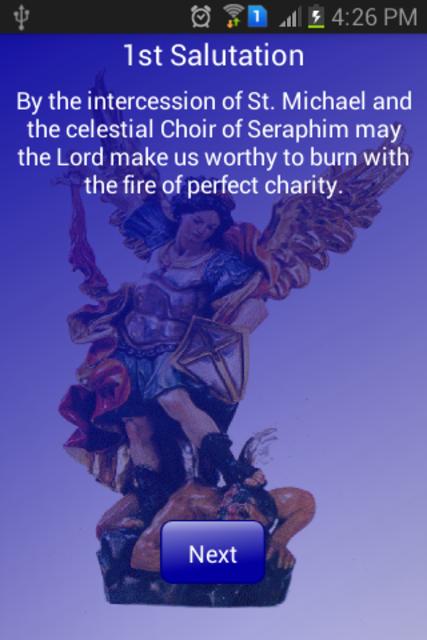 Novena to St Michael Archangel screenshot 5